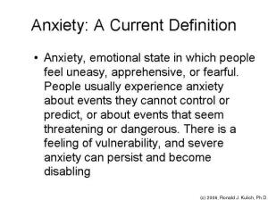 anxiety-definition